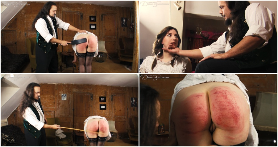 Young ass brutal spanking and caning