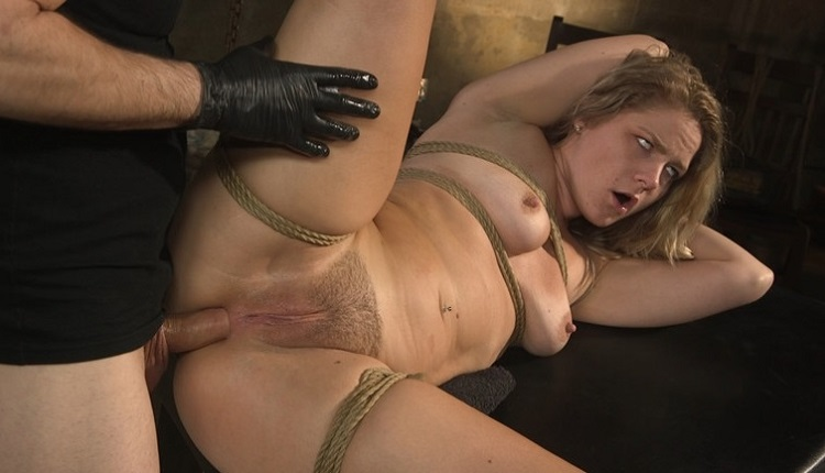 Brutalsessions - Natural Blonde Babe Lisey Sweet Ass-Fucked and Abused in Bondage
